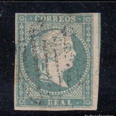 Sellos: 1855 EDIFIL 45 USADO. ISABEL II (220). Lote 195047808