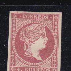 Sellos: 1855 EDIFIL 48* NUEVO CON CHARNELA. ISABEL II (220). Lote 195083416