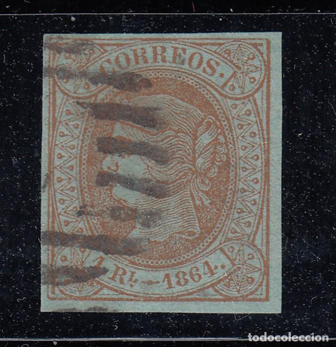 1864 EDIFIL 67 USADO. ISABEL II (220) (Sellos - España - Isabel II de 1.850 a 1.869 - Nuevos)
