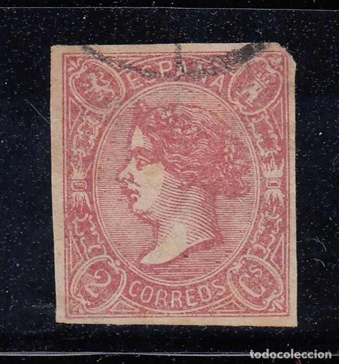 1865 EDIFIL 69 USADO. ISABEL II (220) (Sellos - España - Isabel II de 1.850 a 1.869 - Nuevos)