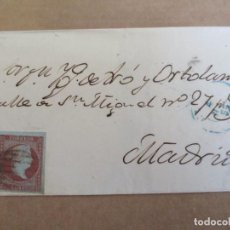 Sellos: CIRCULADA 1855 A MADRID. Lote 195108782