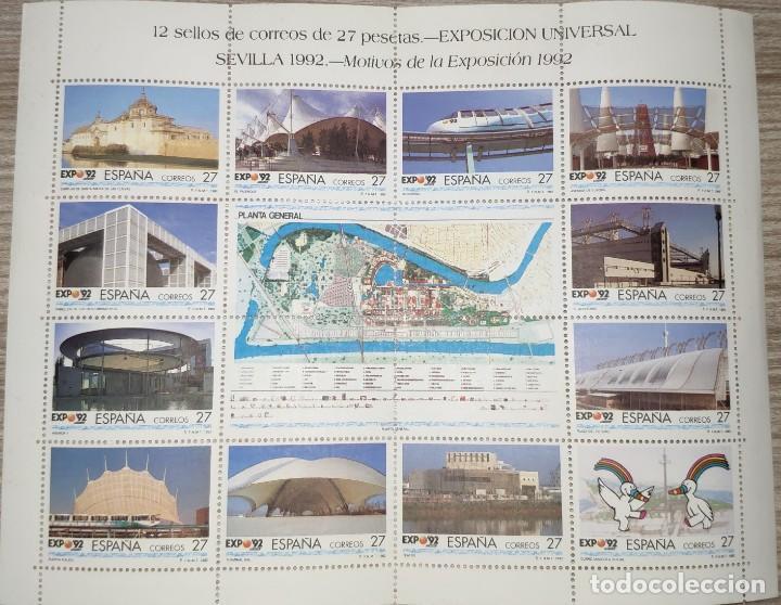 Sellos: Sellos Sevilla Expo 92, sin circular - Foto 3 - 195134688