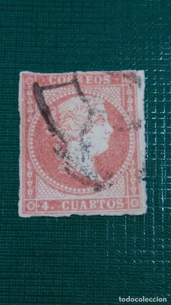 SELO ESPAÑA Nº 48. ISABEL II. USADO. (Sellos - España - Isabel II de 1.850 a 1.869 - Usados)