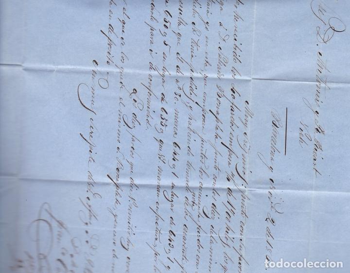 Sellos: F8-10- Carta Completa BARCELONA- VICH 1860 - Foto 3 - 195325021