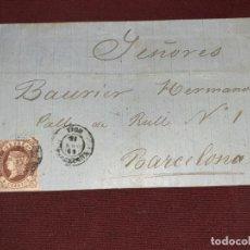 Sellos: VICH, BARCELONA. CARTA CLÁSICA. Lote 195482277