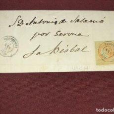 Sellos: VICH, BARCELONA. CARTA CLÁSICA. Lote 195482332