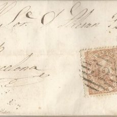 Selos: 1867 LÉRIDA-BARCELONA. Lote 195939441