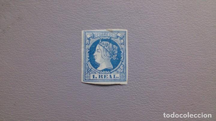 ESPAÑA - 1868-1861 - ISABEL II - EDIFIL 55 - MH* - NUEVO CON GOMA Y FIJASELLOS - VALOR CATALOGO 385€ (Sellos - España - Isabel II de 1.850 a 1.869 - Nuevos)