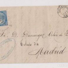 Sellos: CARTA ENTERA. VALLADOLID. 1867. REMITE GUTIÉRREZ Y YURRITA. Lote 197214808