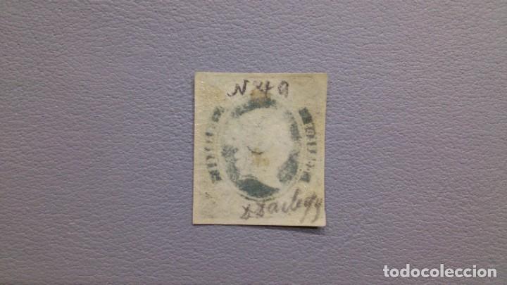 Sellos: ESPAÑA-1862- ISABEL II - EDIFIL 57 - MH* - NUEVO - LUJO - VARIDAD CALCADO AL DORSO - VALOR CAT. 150€ - Foto 2 - 198421998