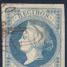 Sellos: FISCAL RECIBOS ISABEL II. AÑO 1861.. Lote 198489498