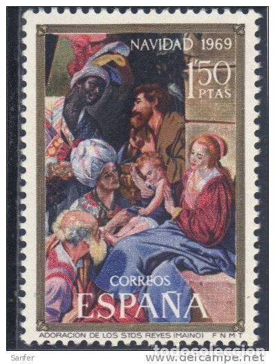 ESPAÑA 1969 - EDIFIL 1944 ( NUEVOS ) (Sellos - España - Isabel II de 1.850 a 1.869 - Nuevos)
