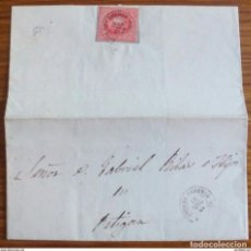 Sellos: ESPAÑA ISABEL II 1864 SOTO DE CAMEROS LOGROÑO. Lote 199500846