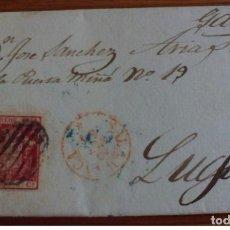 Sellos: ESPAÑA ISABEL II 1854 SALAMANCA CASTILLA LEON. Lote 199501100