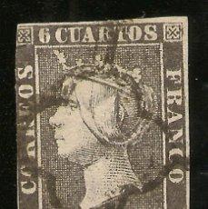 Sellos: ESPAÑA EDIFIL 1A (º) ISABEL II 1850 NL1402. Lote 211417335