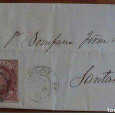 Sellos: ESPAÑA ISABEL II 1862 REINOSA CANTANDER CANTABRIA EDIFIL 58. Lote 199646646