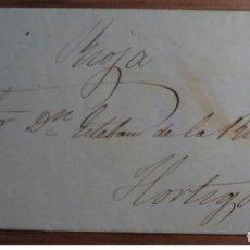 Sellos: ESPAÑA ISABEL II LOGROÑO RUEDA CARRETA 33 1860 TORRECILLA DE CAMEROS RIOJA EDIFIL 52. Lote 199804812