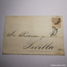 Sellos: ANTIGUA SOBRE-CARTA AÑO 1867 - SEÑORES PICKMAN Y COMPAÑIA - SEVILLA / N-6041. Lote 200003170