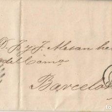 Selos: 1869-ALMERÍA-BARCELONA. Lote 201220552