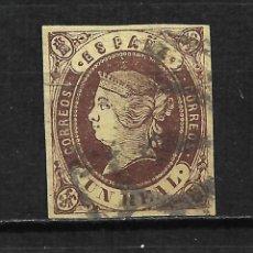 Sellos: ESPAÑA 1862 EDIFIL 61 USADO - 19/10. Lote 201904627