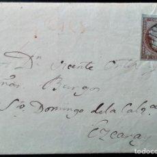 Sellos: ISABEL II EDIFIL 40 POTES MARCA PREFILATÉLICA PREFILATELIA CANTABRIA 1855 . Lote 202362222