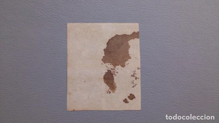 Sellos: ESPAÑA - 1851 - ISABEL II - EDIFIL 6 - BLOQUE DE 4 - PAPEL GRUESO - MH* - NUEVOS - MANCHA DE TINTA. - Foto 2 - 204182475