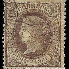 Sellos: EDIFIL 86 VARIEDAD 1866. Lote 204601283