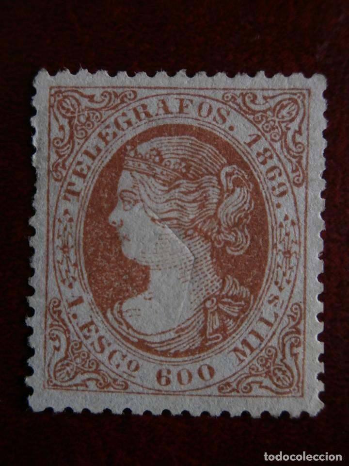 Sellos: PRIMER CENTENARIO TELEGRAFOS - ISABEL II - 1867-1869 - EDIFIL -Nº-18-28- ESCUDO ESPAÑA- Nº-30 - Foto 4 - 204689203