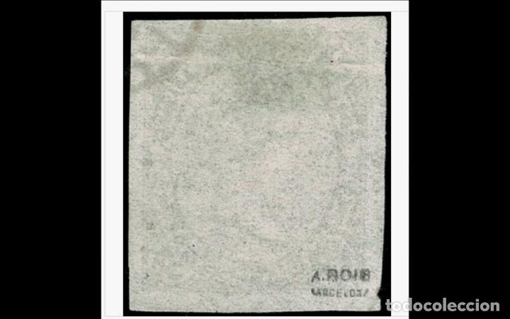 Sellos: ESPAÑA - 1865 -- EDIFIL 73A - LUJO - MARQUILLADO -GRANDES MARGENES - FECHADOR - VALOR CATALOGO 145€. - Foto 2 - 205034681