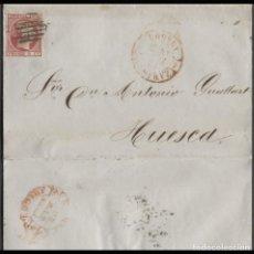 Sellos: 1853 ZARAGOZA A HUESCA. Lote 205719207