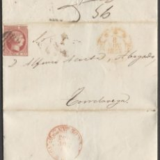 Sellos: 1853 BURGOS A TORRELAVEGA. Lote 205720076