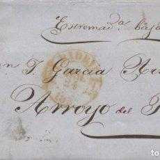 Sellos: 1854 MADRID A ARROYO DEL PUERCO. Lote 205720567