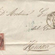 Sellos: 1856 ZARAGOZA A HUESCA. Lote 205721886