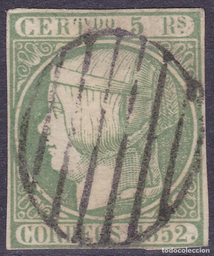 D28 EDIFIL Nº 15 SELLO USADO (Sellos - España - Isabel II de 1.850 a 1.869 - Usados)