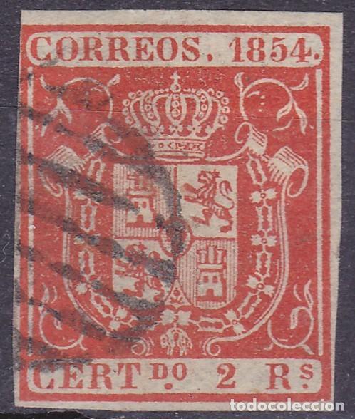 D30 EDIFIL Nº 25 SELLO USADO (Sellos - España - Isabel II de 1.850 a 1.869 - Usados)