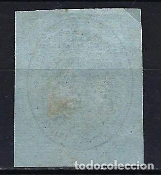 Sellos: 1855 España Escudo Edifil 38 MLH* Nuevo ligera señal de fijasellos - Foto 2 - 206537830