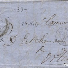 Sellos: 1864 LOGROÑO A ORTIGOSA DE CAMEROS. RUEDA DE CARRETA 33. Lote 207306405