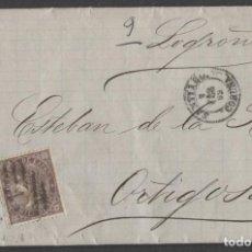 Sellos: 1869 SANTIAGO A ORTIGOSA.. Lote 207308623