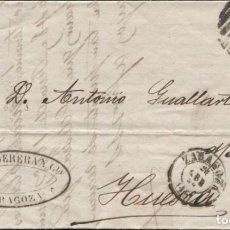 Sellos: 1869 ZARAGOZA A HUESCA. Lote 207308808