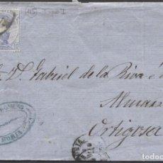 Sellos: 1873 SORIA A ORTIGOSA. RUEDA DE CARRETA 45. Lote 207309980