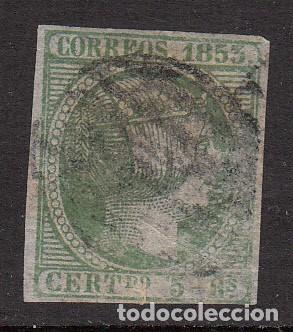 ISABEL II - USADO NUM 20 MATASELLOS PARRILLA (Sellos - España - Isabel II de 1.850 a 1.869 - Usados)