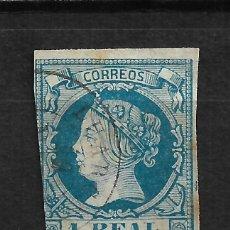 Selos: ESPAÑA 1860 EDIFIL 55 USADO OVIEDO LUARCA - 15/61. Lote 208032062