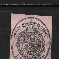 Timbres: ESPAÑA 1855 EDIFIL 36 USADO OVIEDO CASTROPOL - 15/61. Lote 208033000