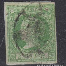 Sellos: 1860 - 1861 ISABEL II EDIFIL 51(*) VALOR CATAL. 28,00€. Lote 55128595