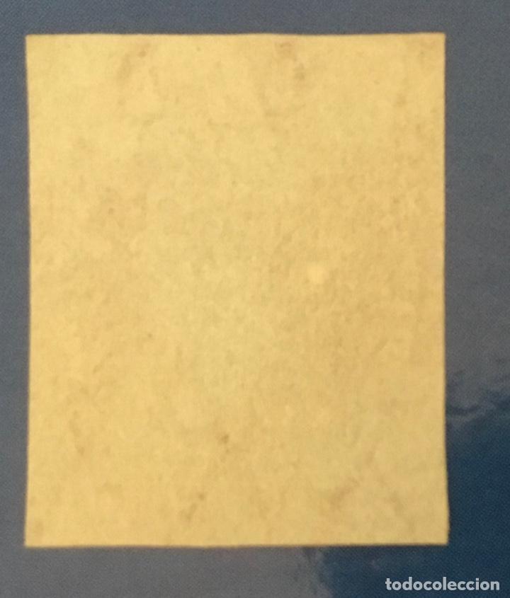 Sellos: 1855-ESPAÑA ISABEL II FILIGRANA LAZOS EDIFIL 40 (*) NUEVO - 4 CUARTOS ROJO - - Foto 2 - 209052147
