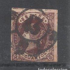 Sellos: ISABEL II 1862 EDIFIL 58 RUEDA CARRETA 43 DE SANTANDER. Lote 209179473
