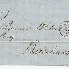 Sellos: ESPAÑA.CARTA COMPLETA ESCRITA EN 1857 DIRIGIDA DE MADRID A BARCELONA. Lote 209763432