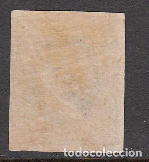Sellos: ISABEL II 1864 NUM 63 NUEVO CON SEÑAL FIJASELLOS Y GOMA IRREGULAR - Foto 2 - 210028628