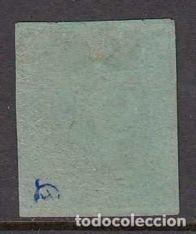 Sellos: ISABEL II 1864 SELLO NUM. 67 NUEVO CON SEÑAL DE FIJASELLOS Y MARQUILLA - Foto 2 - 210035461