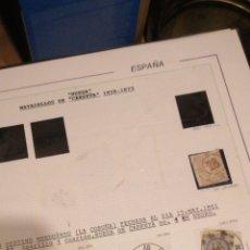 Sellos: CUATRO CUARTOS ISABEL II RESTO DE COLECCIÓN SIGLO XIX TAL FOTOS. Lote 214862977